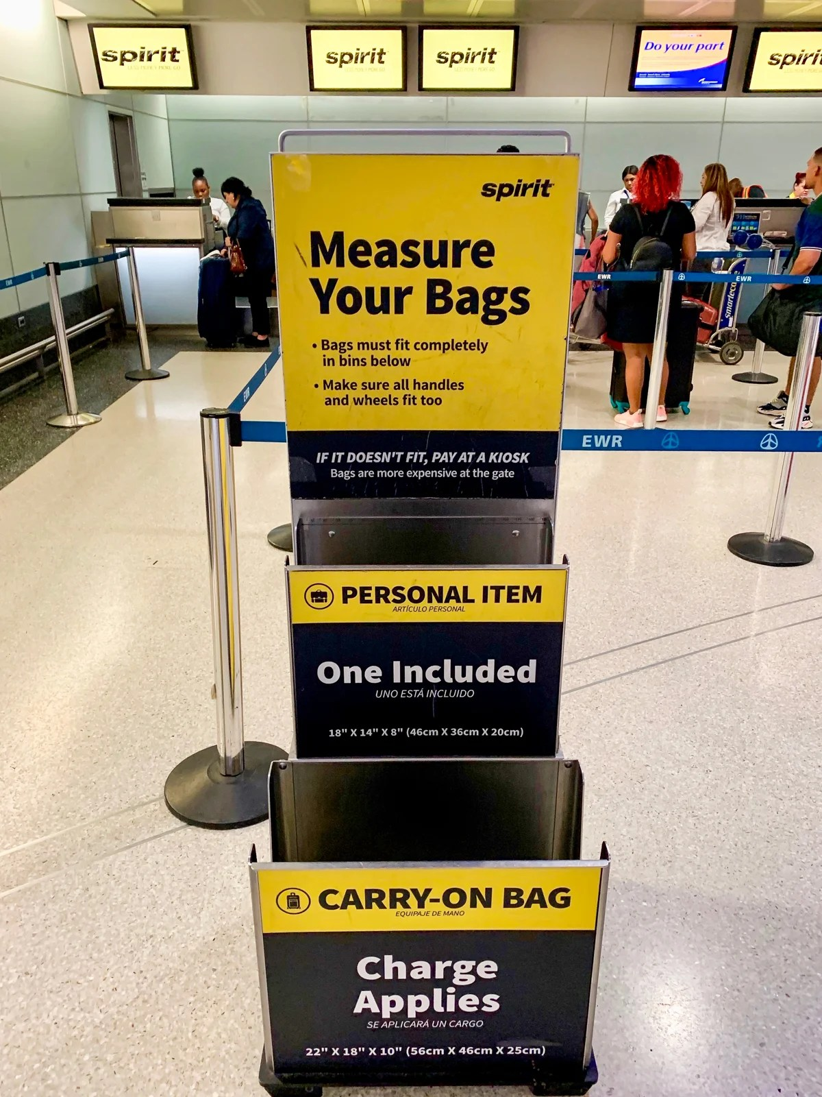 spirit airline baggage coupons