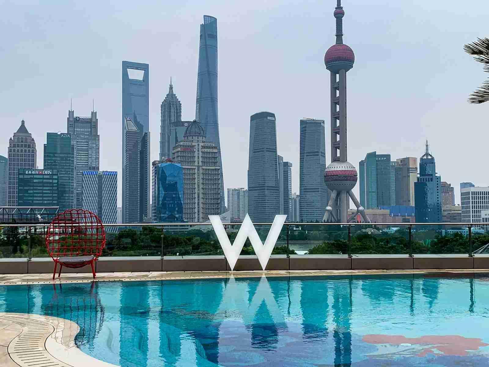 W Shanghai (Photo courtesy of Ethan Steinberg)