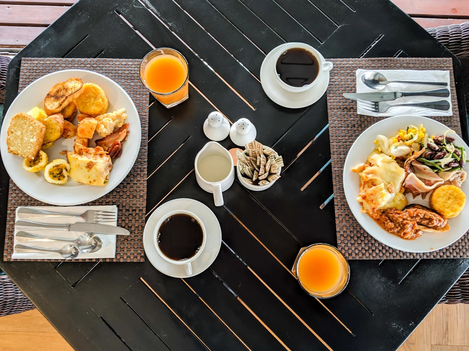TPG readers' favorite points hotel breakfasts around the world