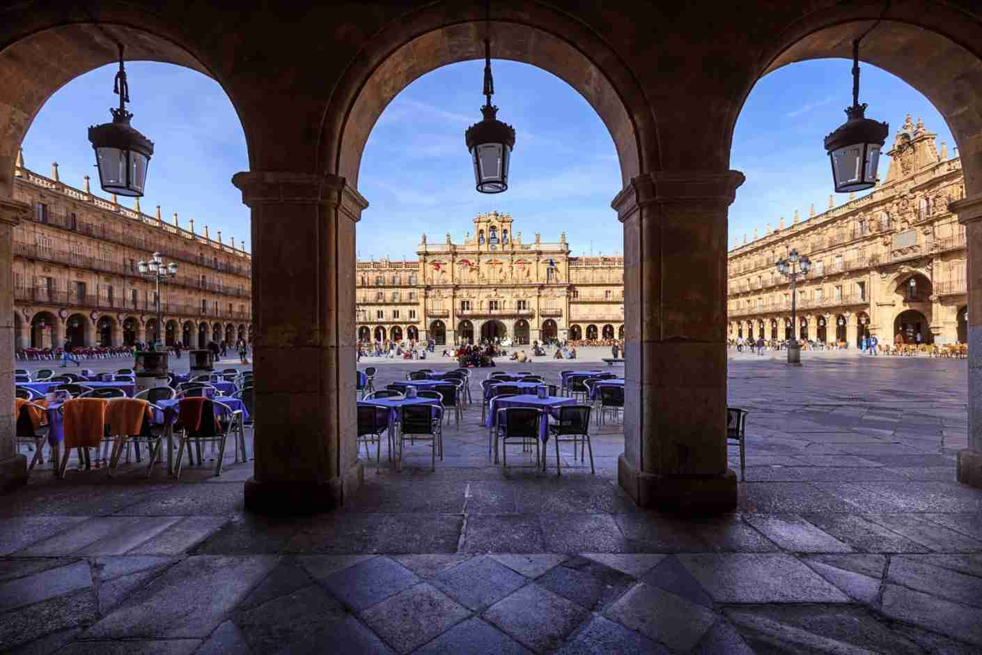 Plaza Mayor Salamanca Spain