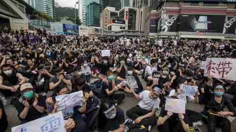 Hong Kong Protest June 12, 2019