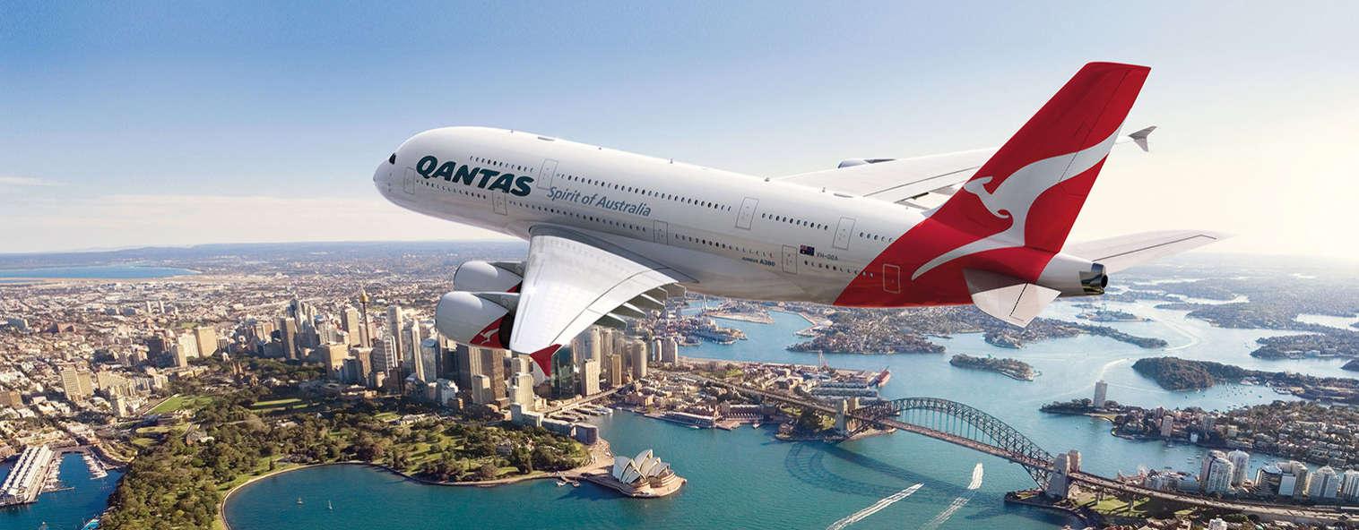 Qantas A380 Sydney Australia