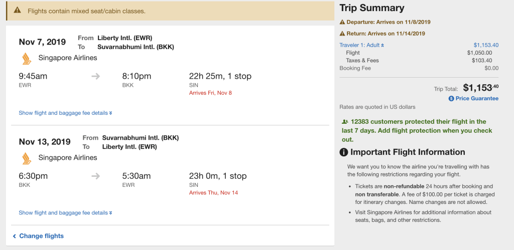 Premium Economy Flights to Asia Have Dropped to $1049 R/T