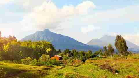 Virunga Mountains and Volcanoes in Rwanda