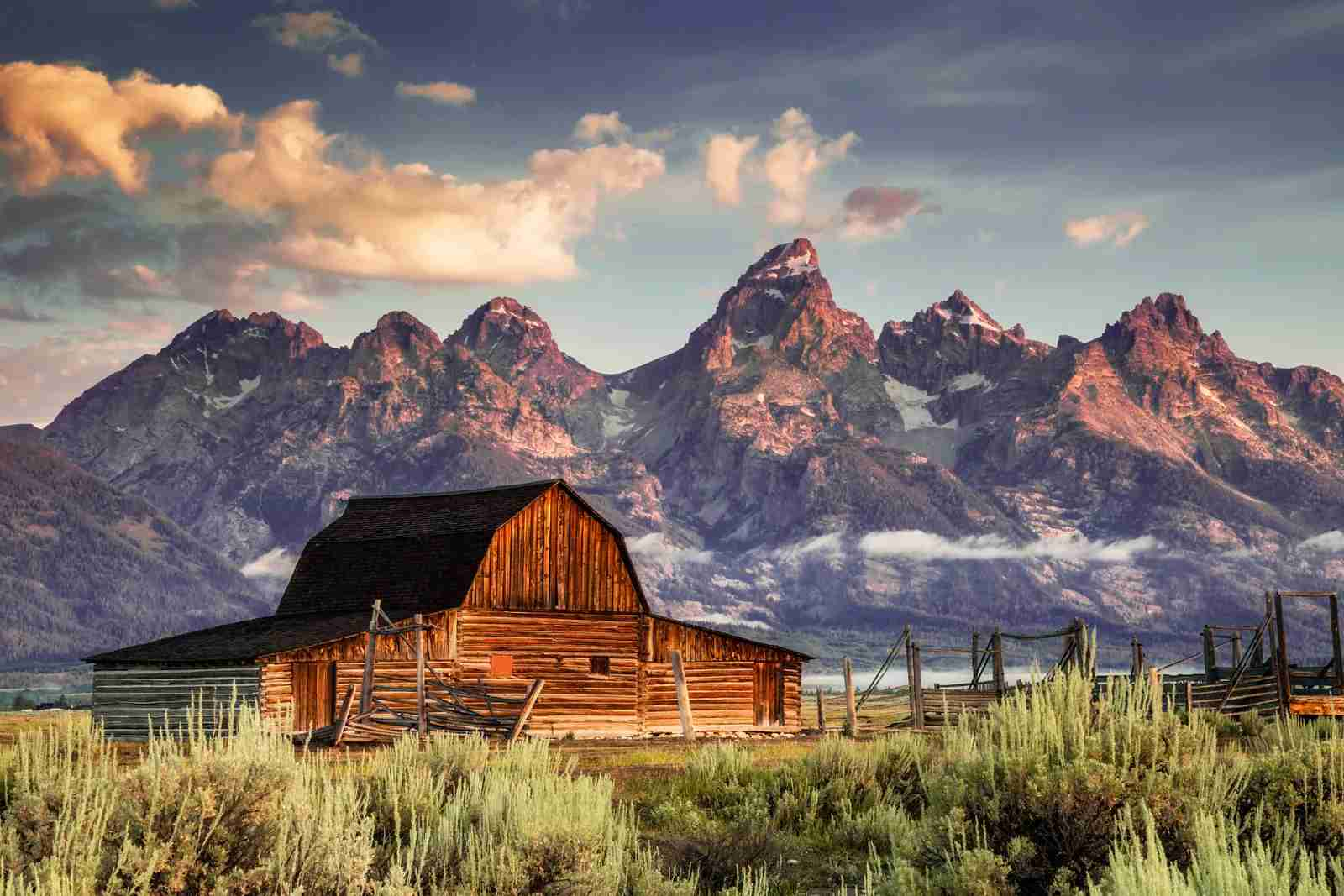 Moulton Barn, Grand Tetons, Jackson Wyoming