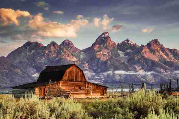 Moulton Barn, Grand Tetons, Jackson Wyoming