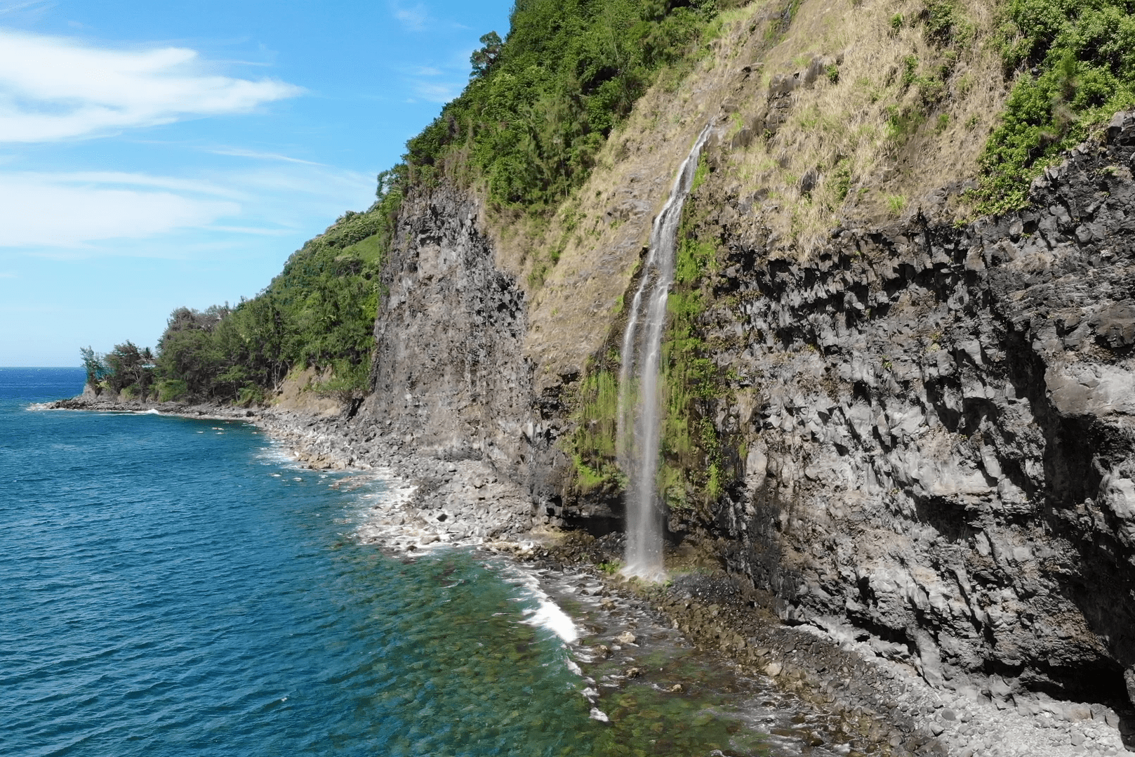 The tough climb to Kila Falls likely means you