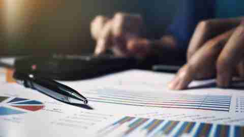 calculator pen expense reports