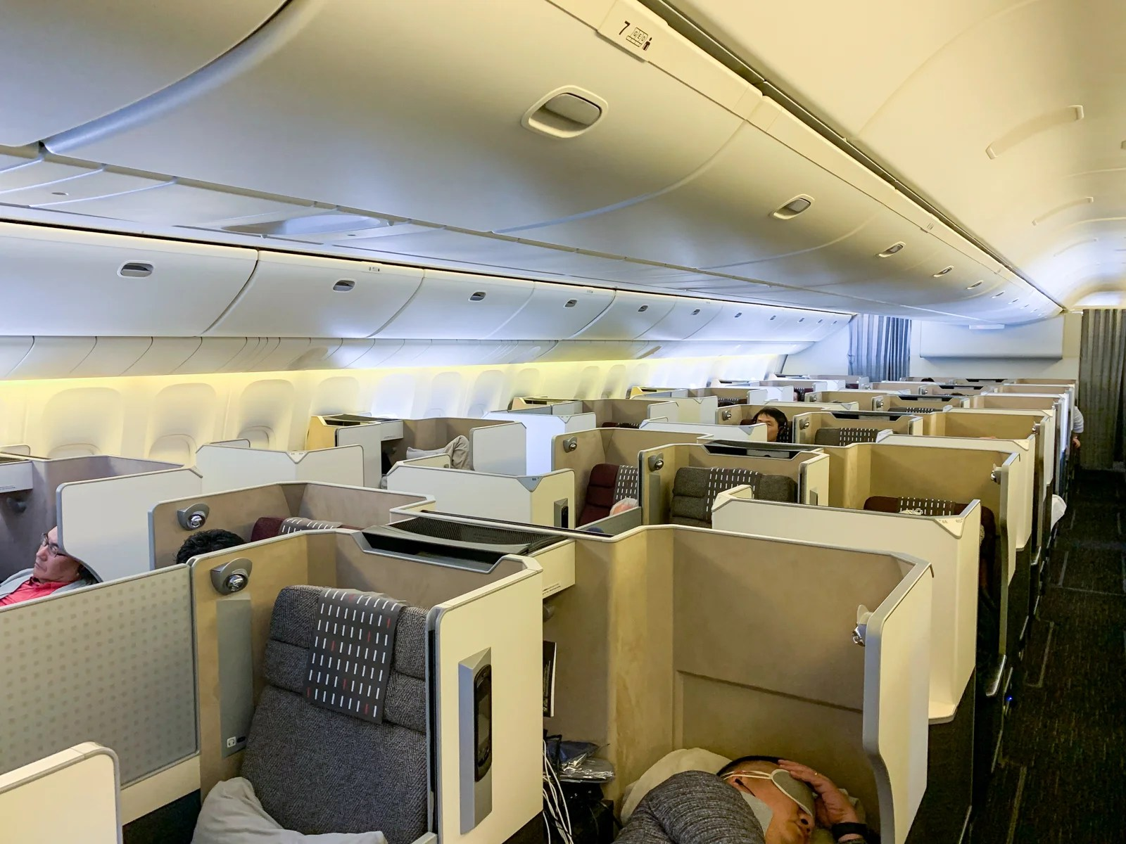 Not Quite as Good as Last Year: Japan Airlines in Business Class on the 777-300ER