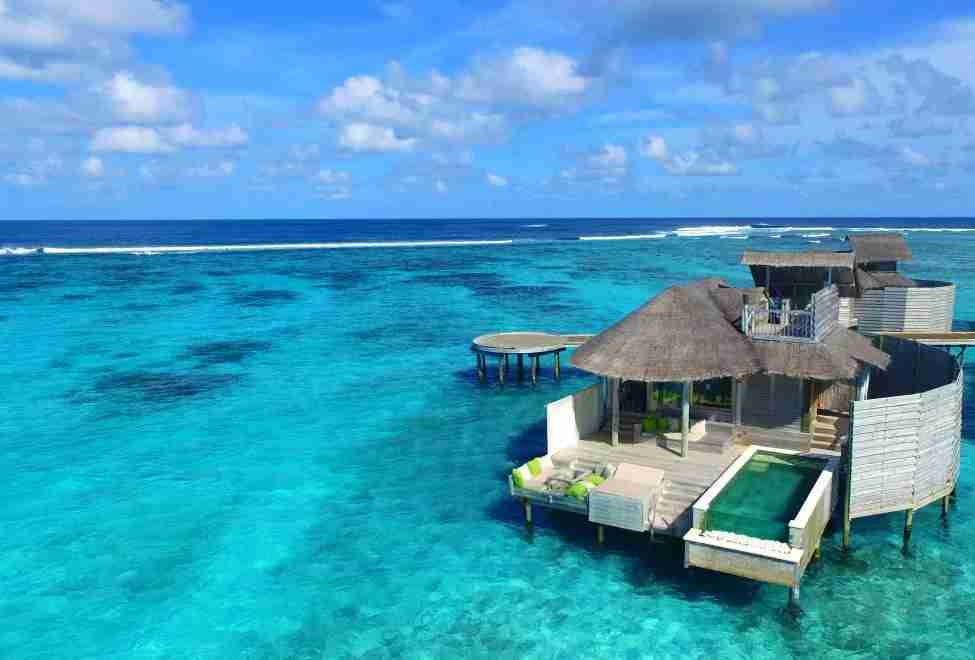 The Six Senses Laamu in Southern Maldives (Image courtesy of Six Senses Hotels & Resorts)
