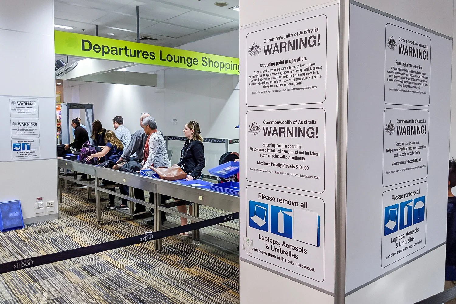 Airport Security Is Done Very Differently in Australia