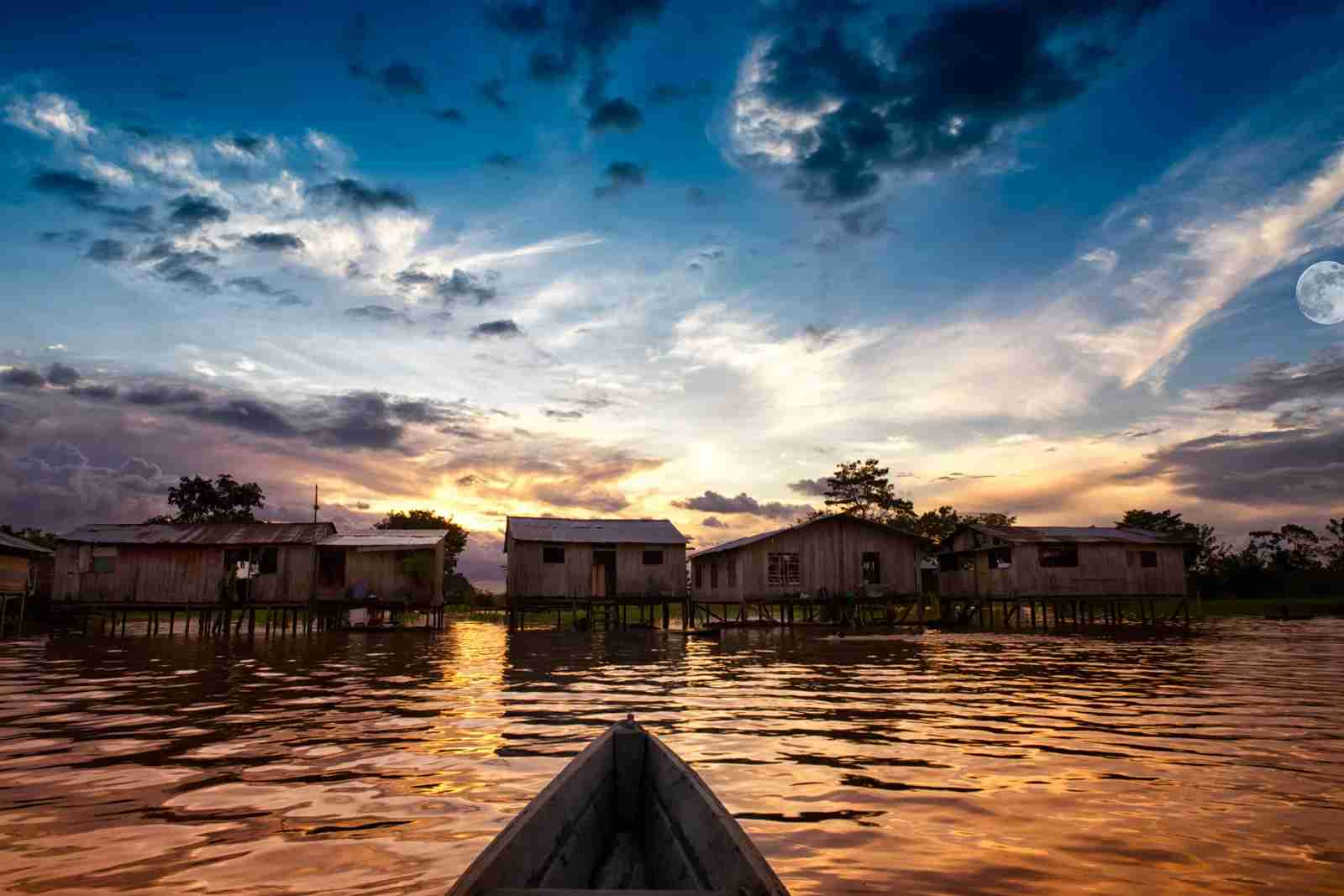 Near the town of Leticia, Colombia from the Amazon River. (Photo by Kim Schandorff / Getty Images)