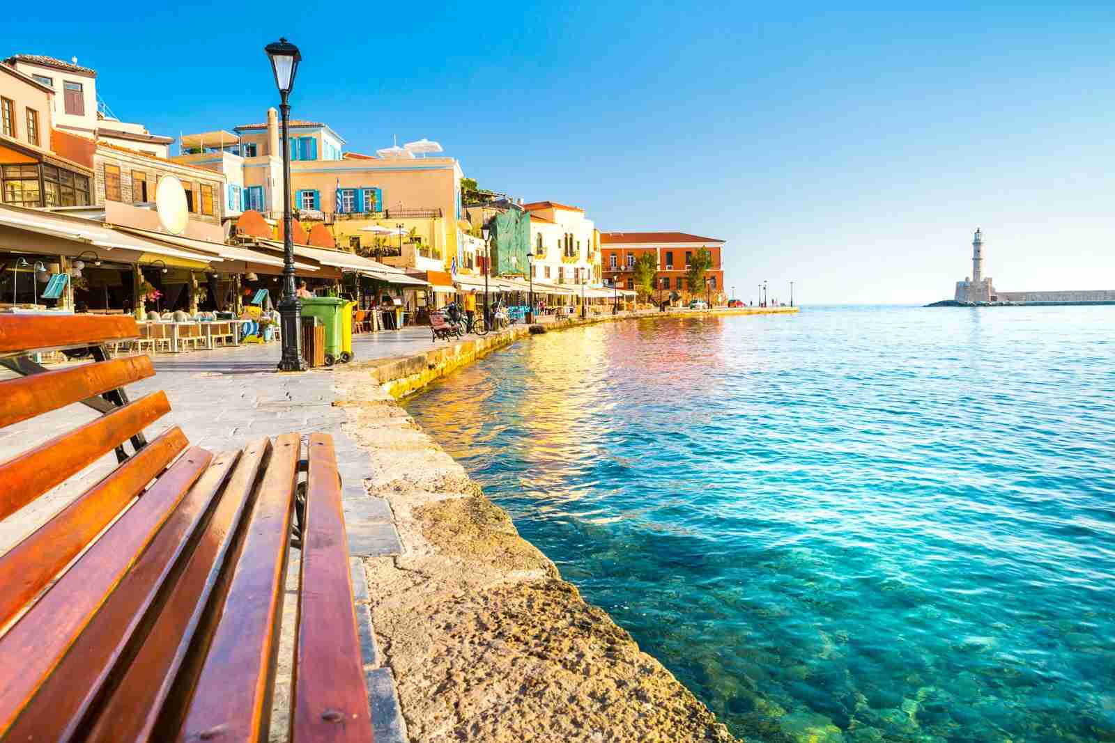 Chania, Crete. (Photo by Aleh Varanishcha / Getty Images)