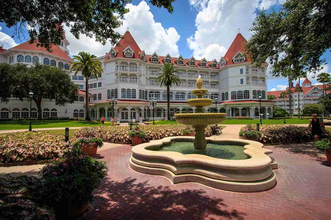Grand FloridianWalt Disney World, FL. (Photo by Scott Smith via Flickr) -------------------------------------------------------------------- My Book The Land of Wizards & Witches: Images of