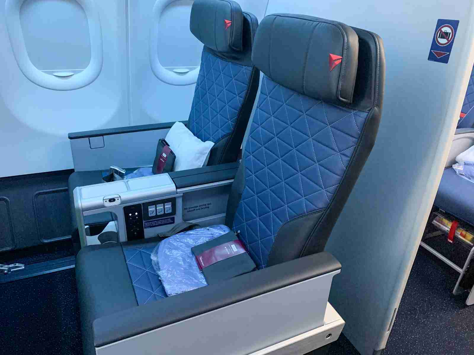 Delta Premium Select on an Airbus A330-900neo (Photo by Darren Murph)