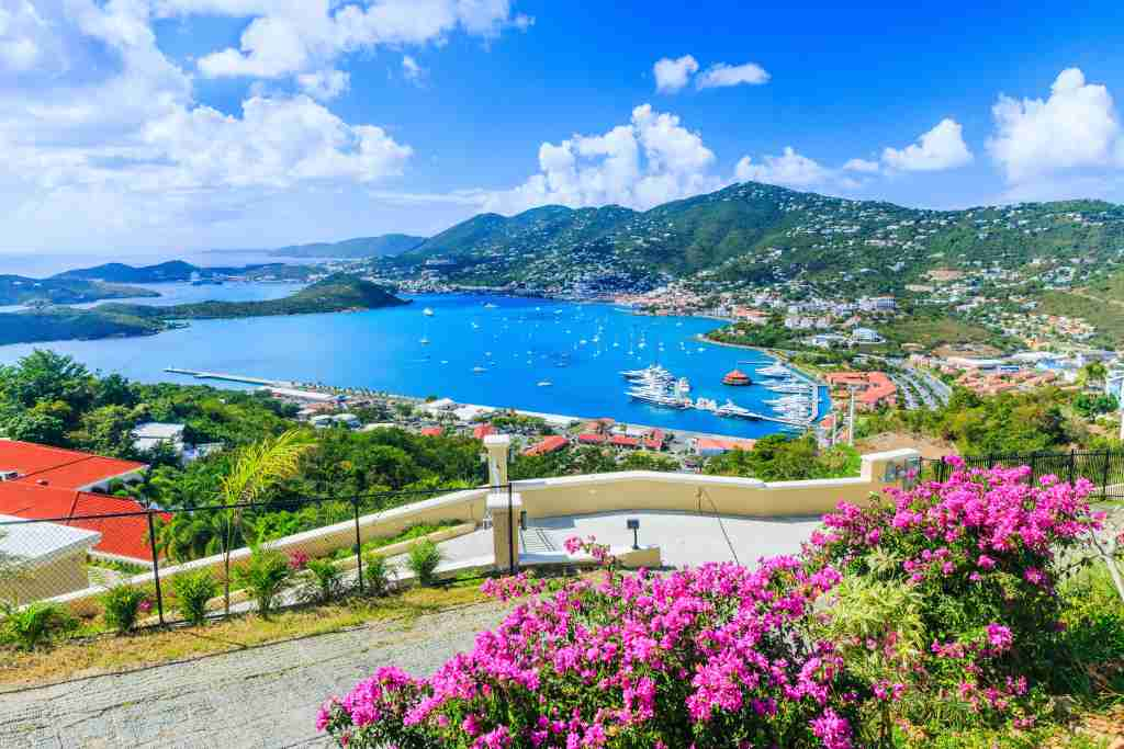 Caribbean, St Thomas US Virgin Islands. Panoramic view. (Image by sorincolac/iStock/Getty Images)