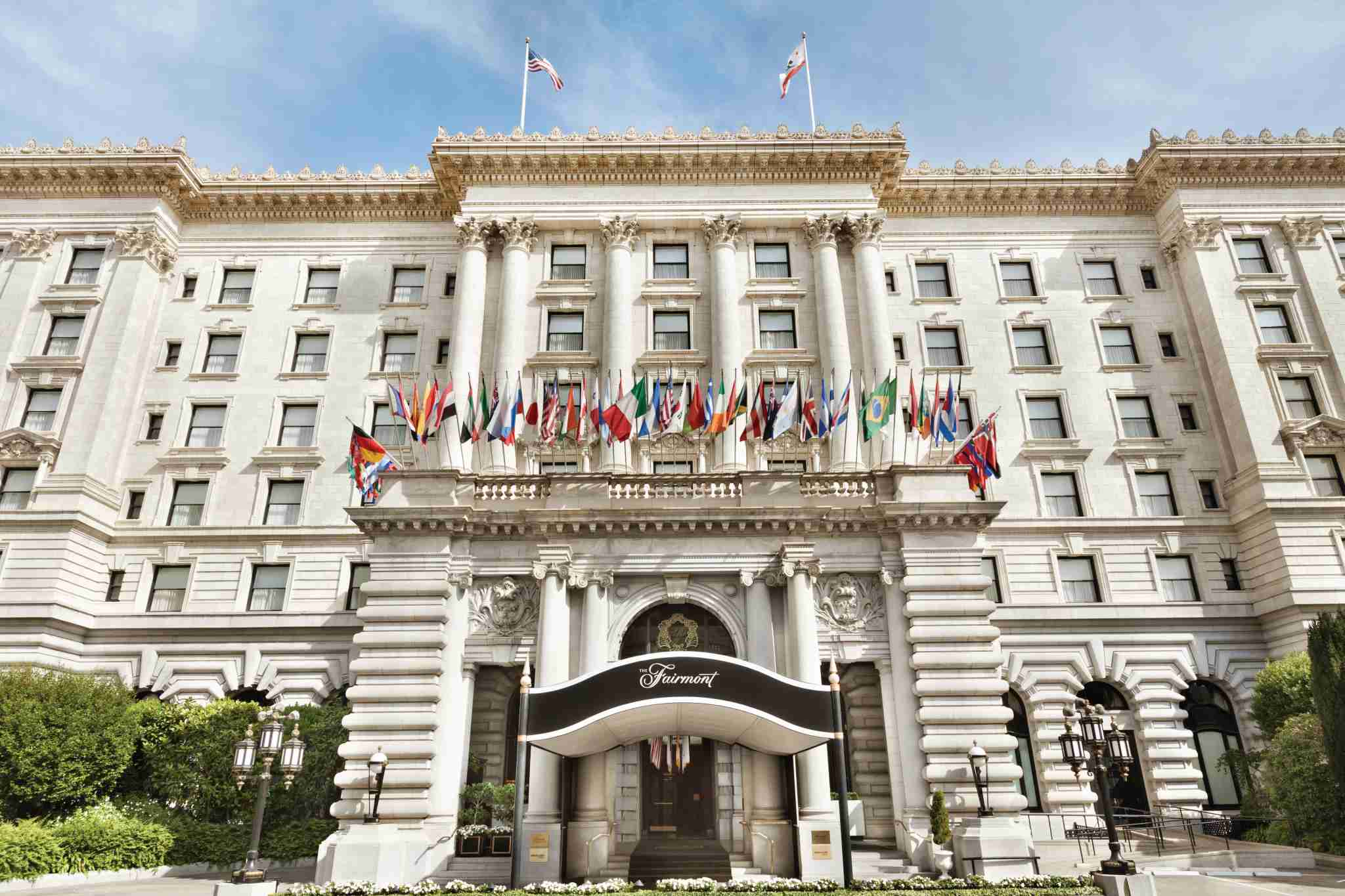 The hotel that started a collection - the Fairmont San Francisco. (Photo courtesy of the hotel)