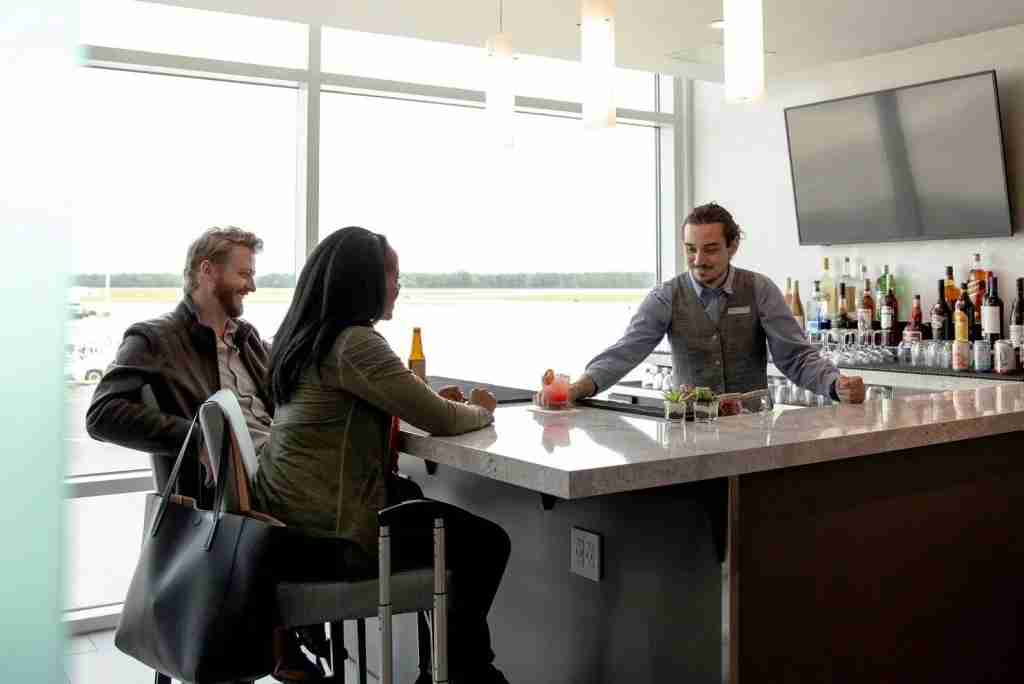The Club at JAX (Image courtesy of The Club Airport Lounges)