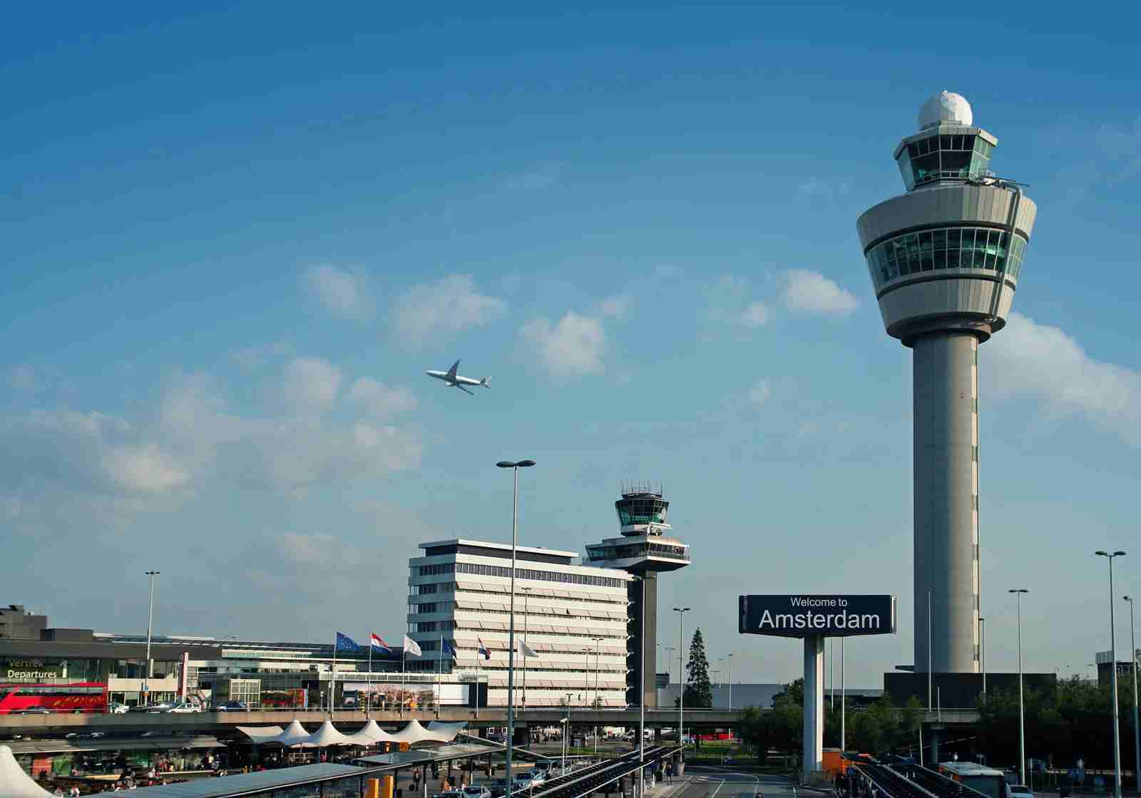 Schiphol Airport in Amsterdam. (Photo by Narvikk / Getty Images)
