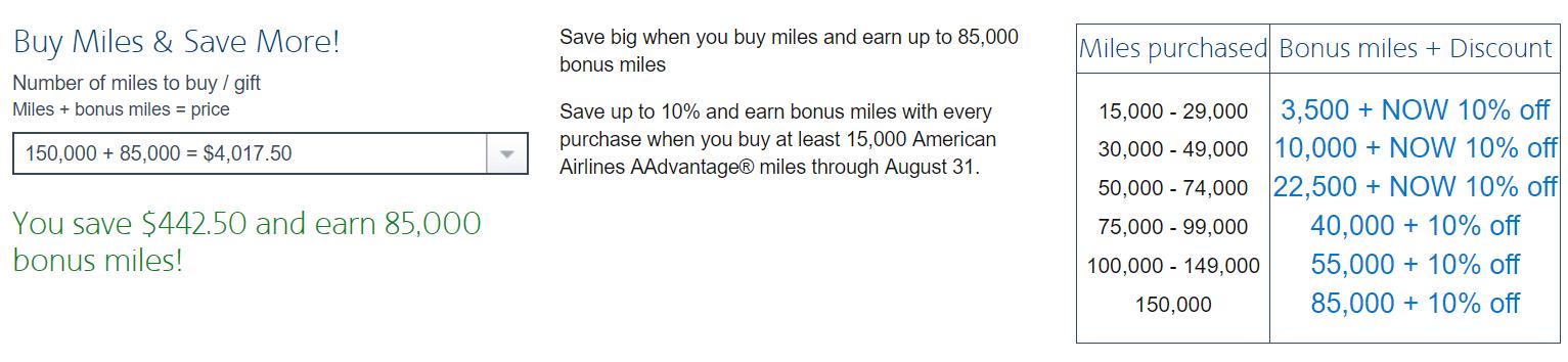Last Chance: Up to 85k Bonus AA Miles Through Its Latest Promo