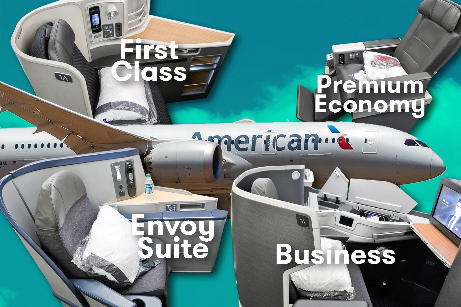 Best American Airlines seats ranked from best to worst