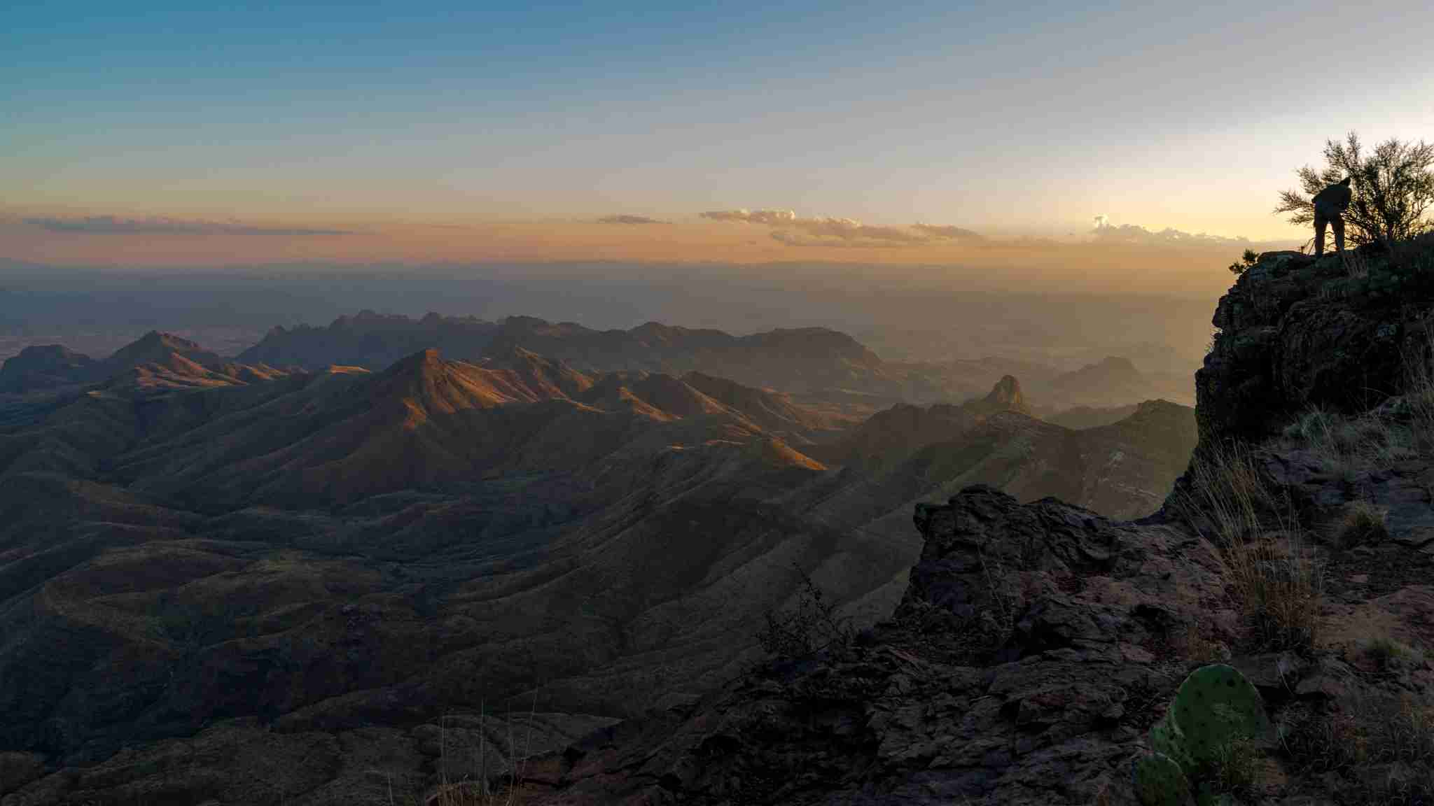 South Rim Trail overlook at Big Bend National Park (Photo by Wyatt Smith/TPG)