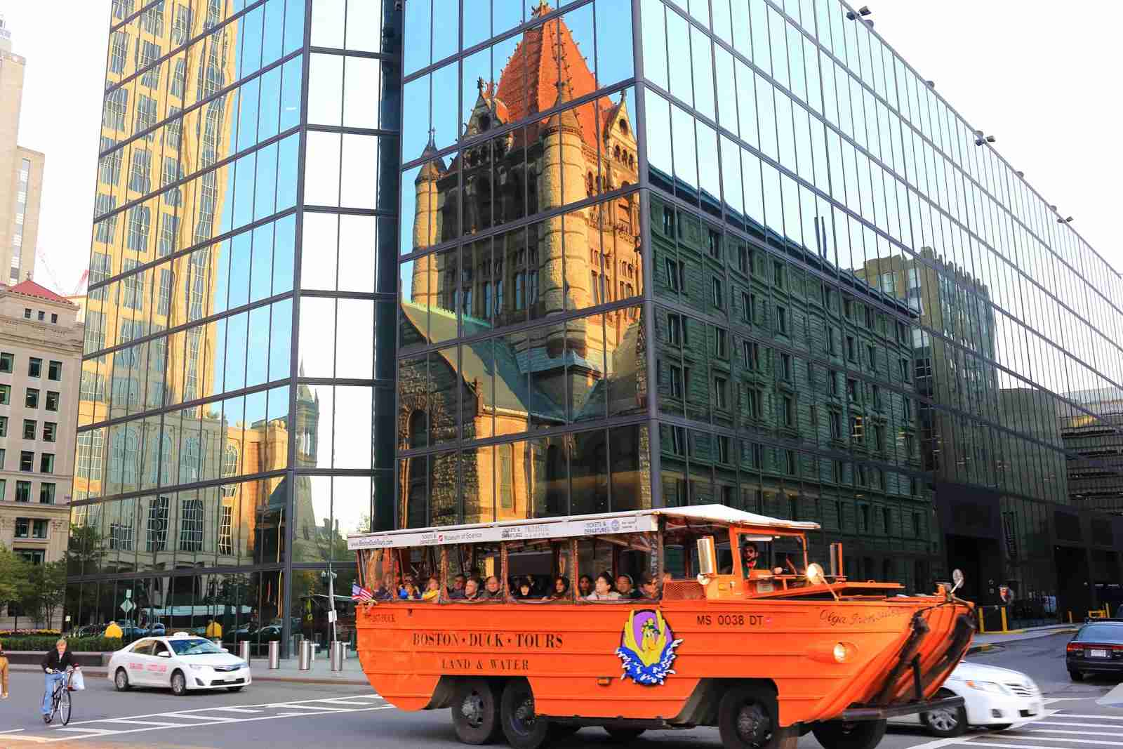 The Boston Duck Tours. (Photo by shunyufan / Getty Images)