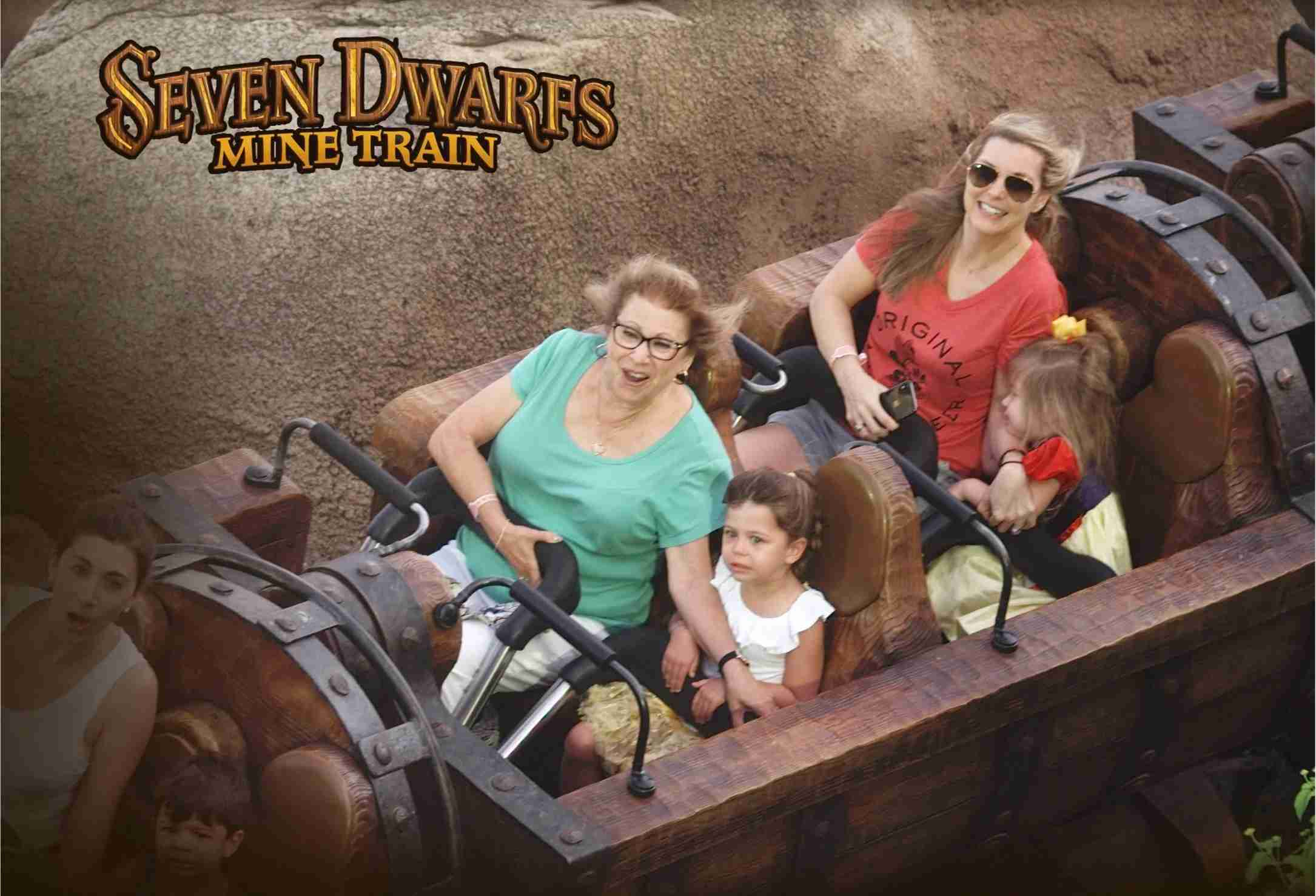 Get a FastPass+ reservation for Mine Train if you can