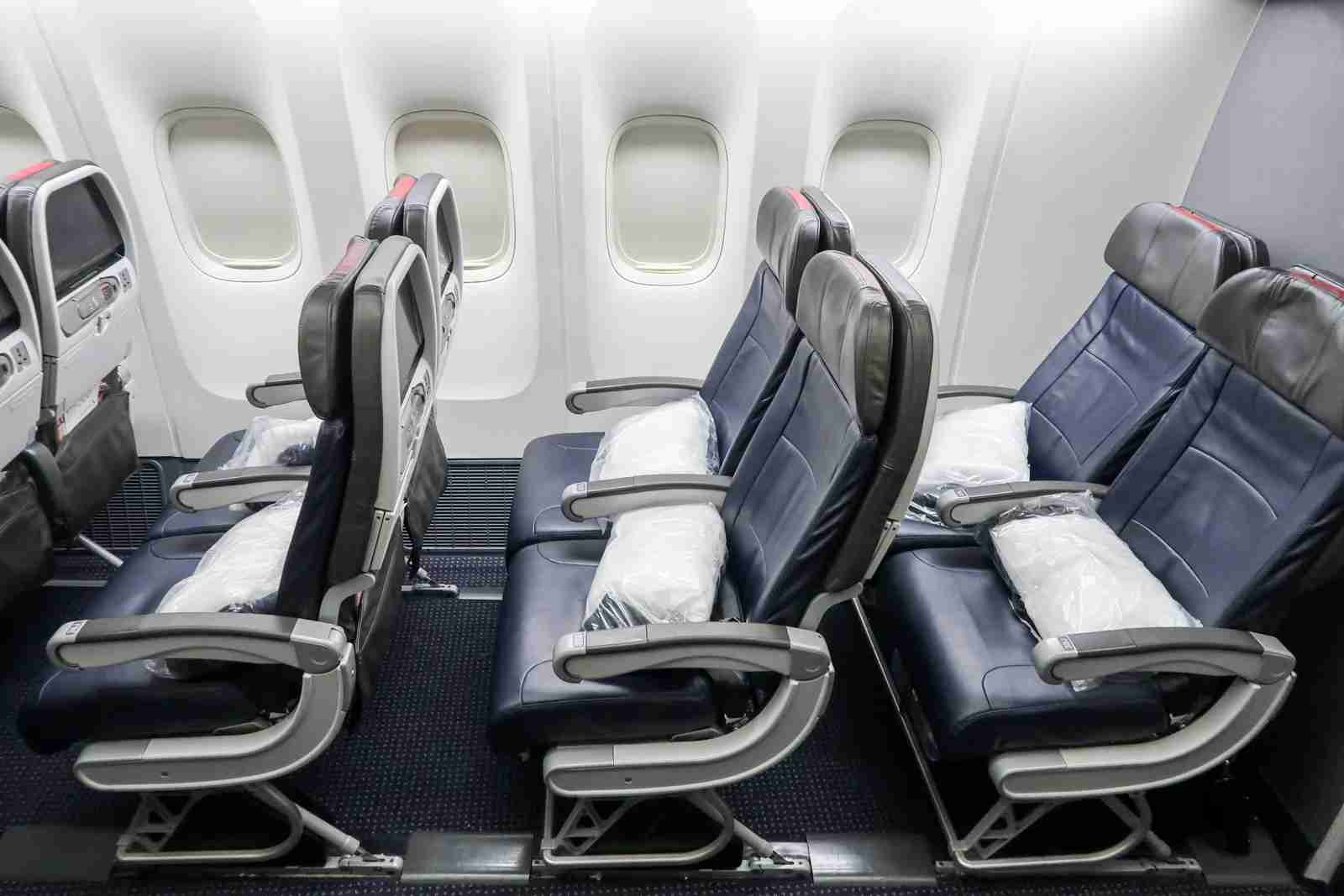 Preferred seats on American Airlines