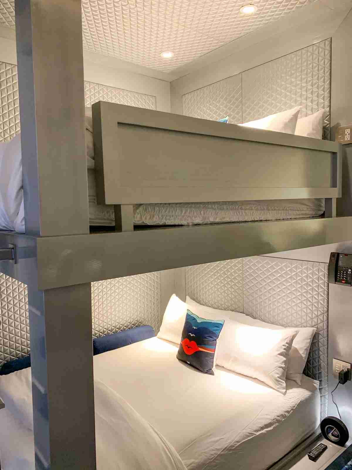 Bunk beds at the W Aspen (Photo by Summer Hull/The Points Guy)
