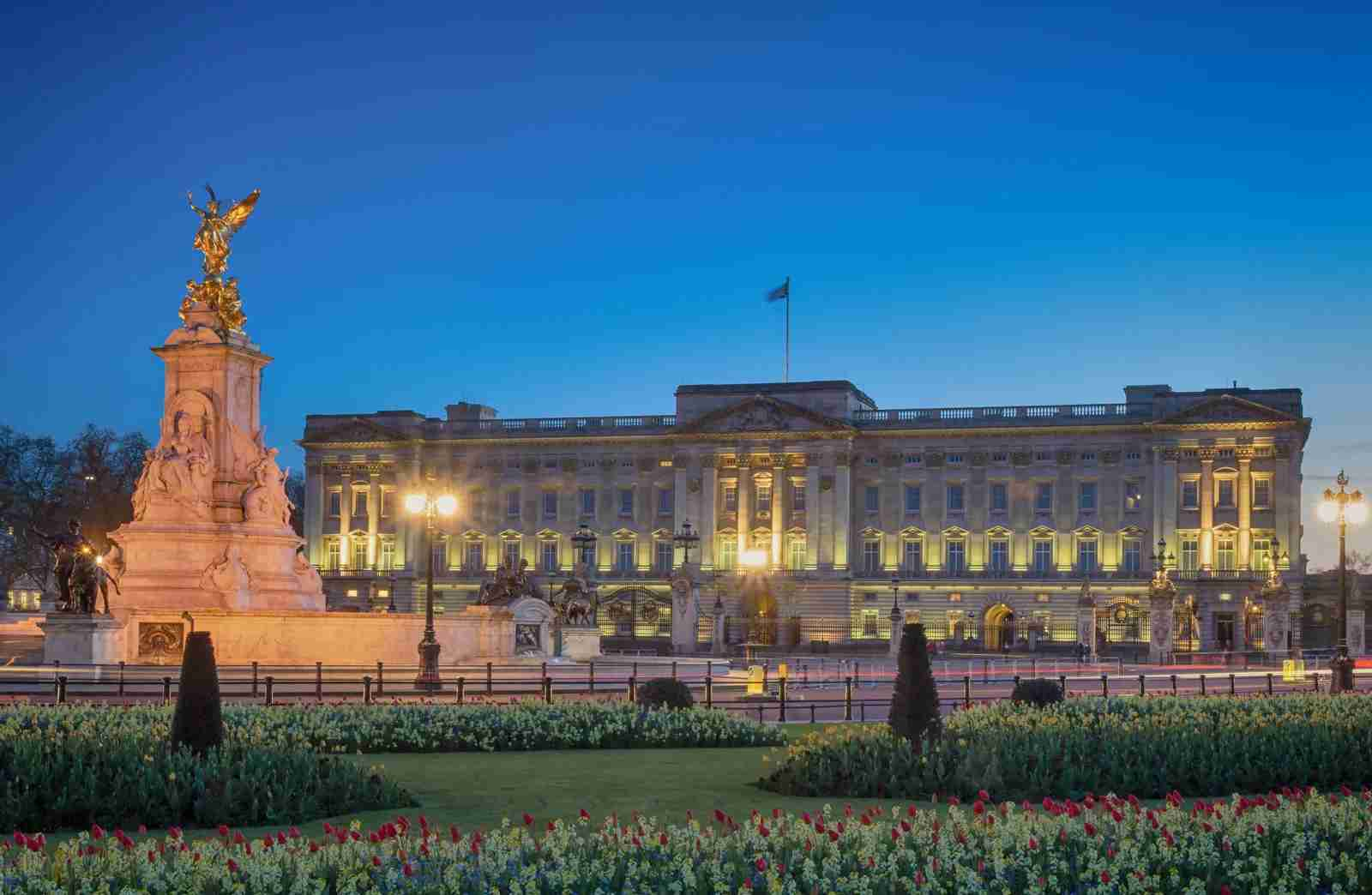 Buckingham Palace. (Photo by Maui01/Getty Images)