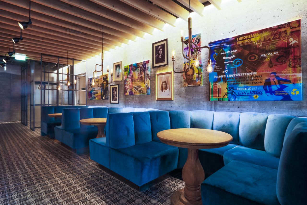 A trendy eatery at the Canopy Hilton in Reykjavik, Iceland. Photo courtesy of Canopy Hotels.
