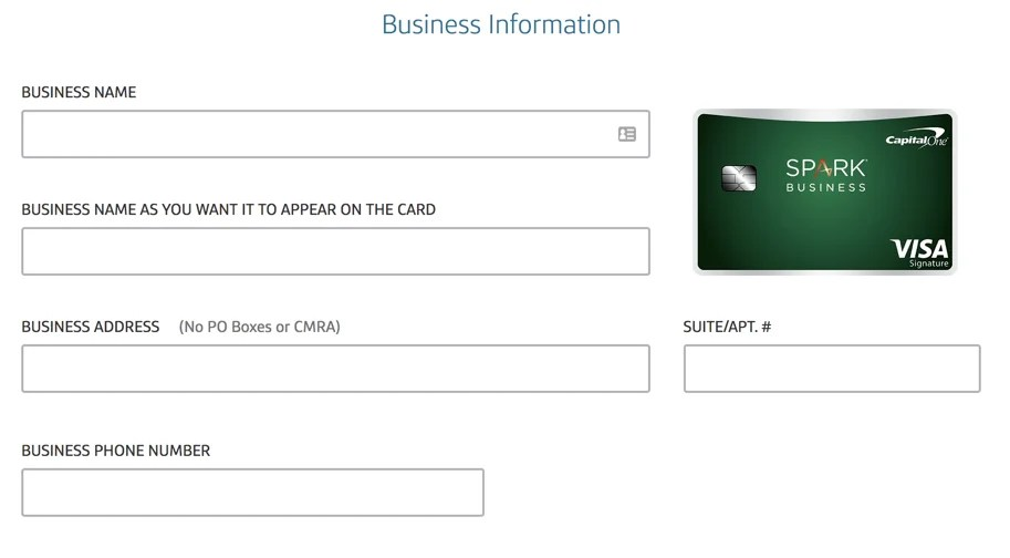Credit One Application >> How To Complete A Capital One Business Credit Card Application