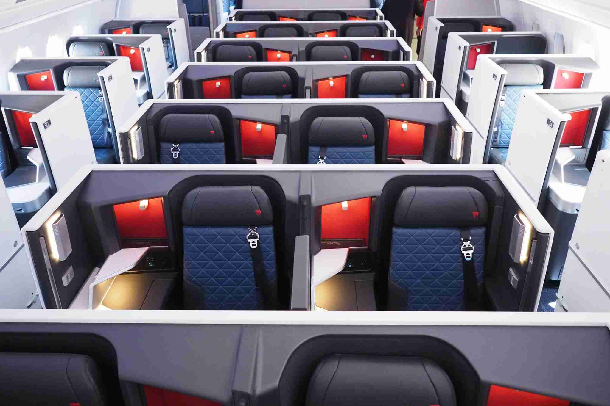 Fly Delta in style (Photo by Zach Honig/TPG)
