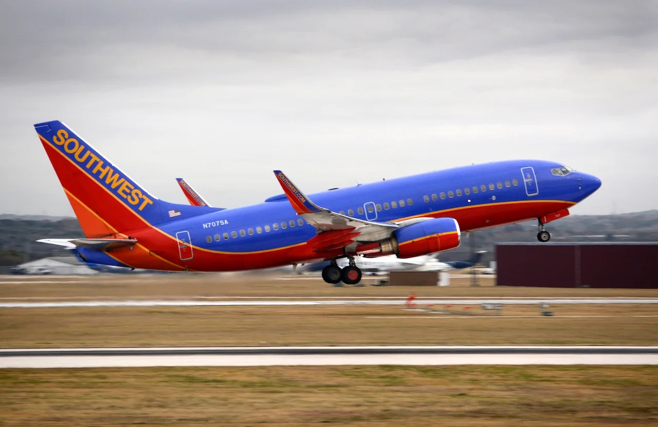Southwest's new enhancement to tracking Travel Funds