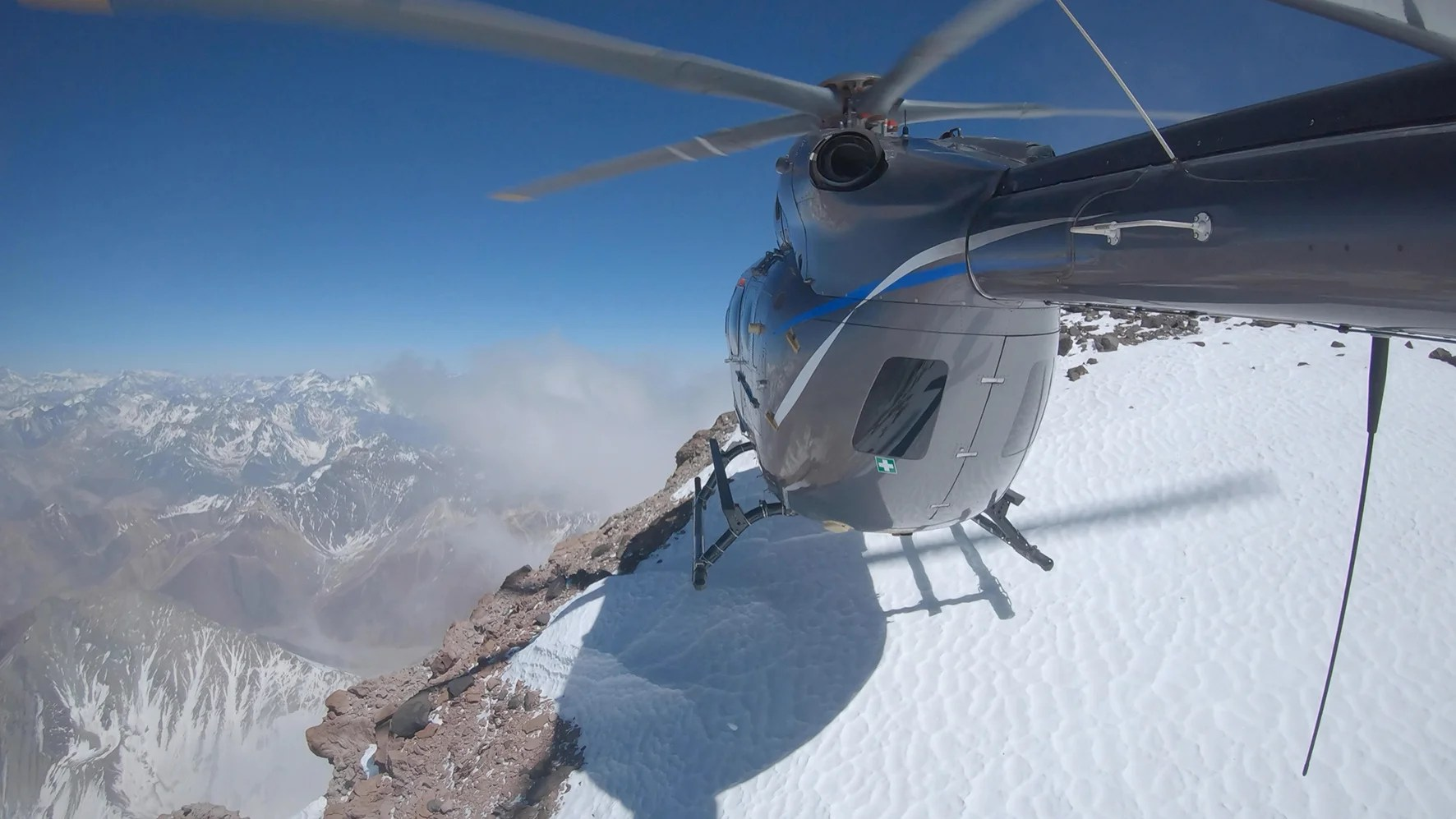 Airbus lands a helicopter on the tallest mountain outside Asia