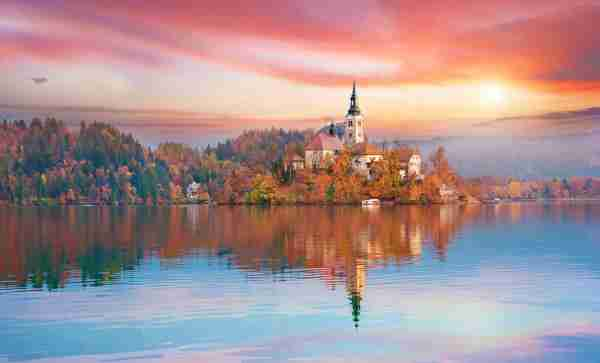 Lake Bled in Slovenia. Photo by AndrijTer / Getty Images.