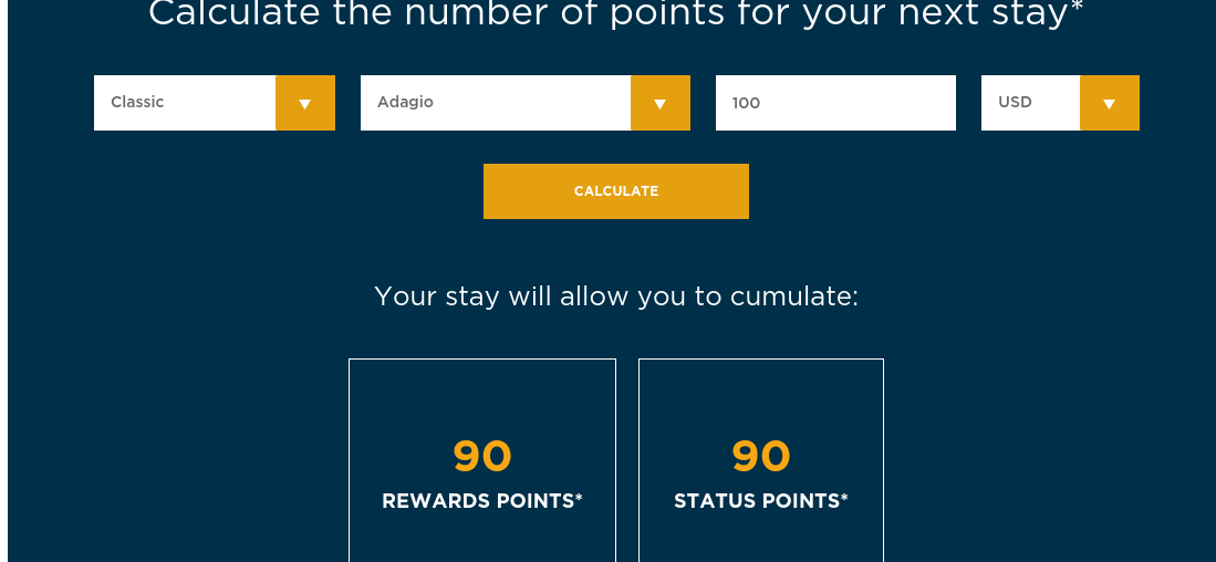 accor earning matrix