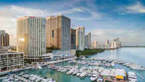 (Photo courtesy of the Miami Marriott Biscayne Bay)