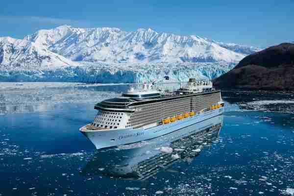 Royal Caribbean Ovation of the Seas Alaska