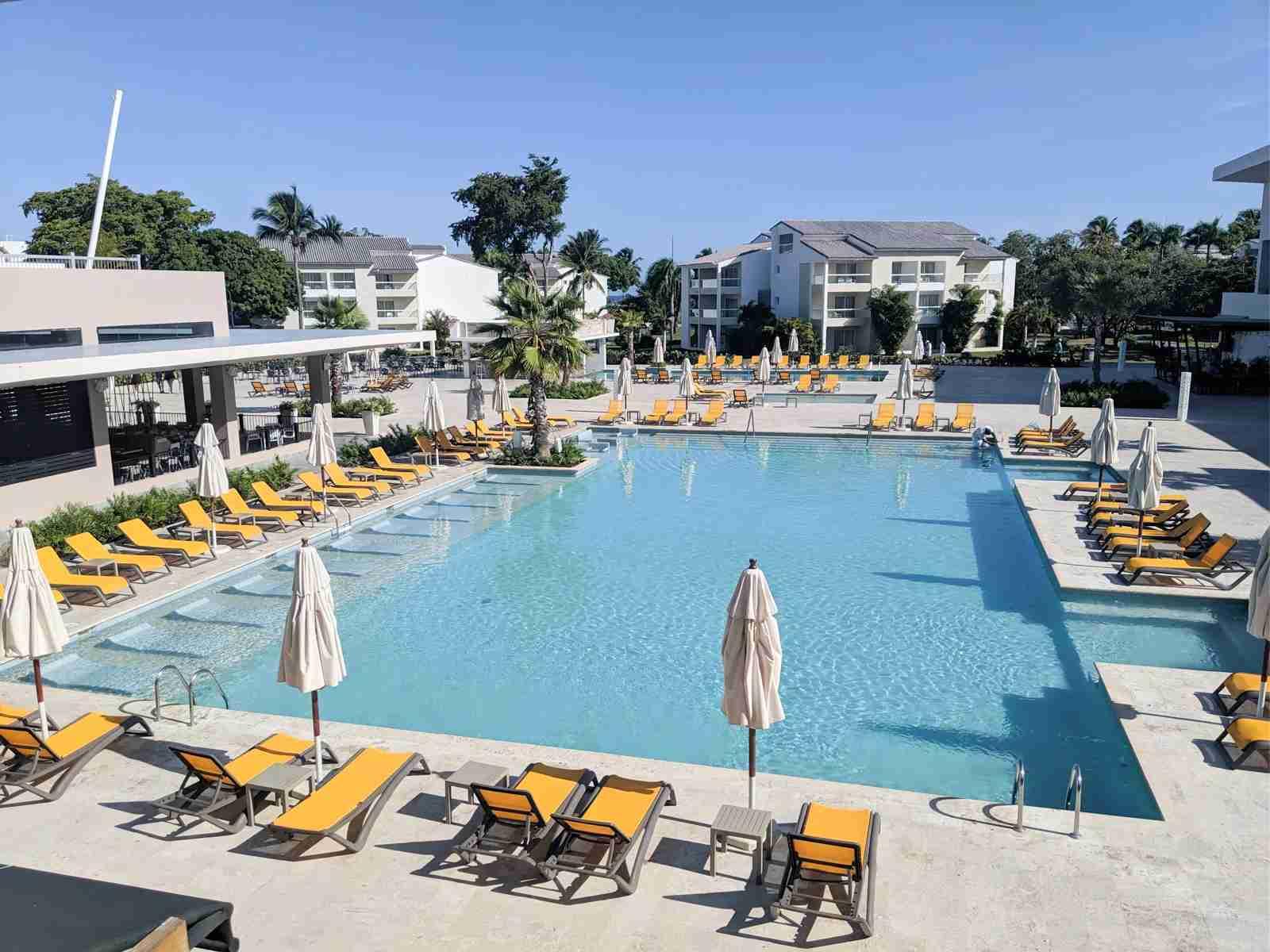 Emotions Playa Dorado pool