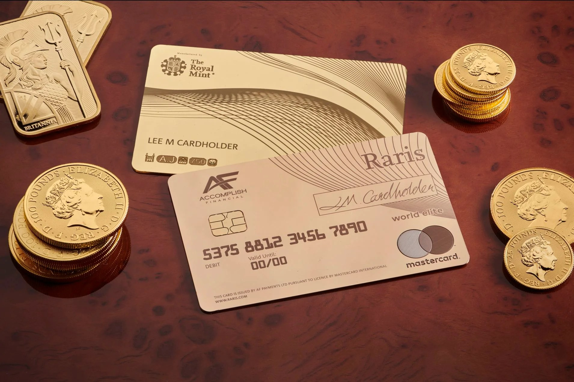 For $23k you can own the world's first 18-karat gold debit card — but we wouldn't recommend it