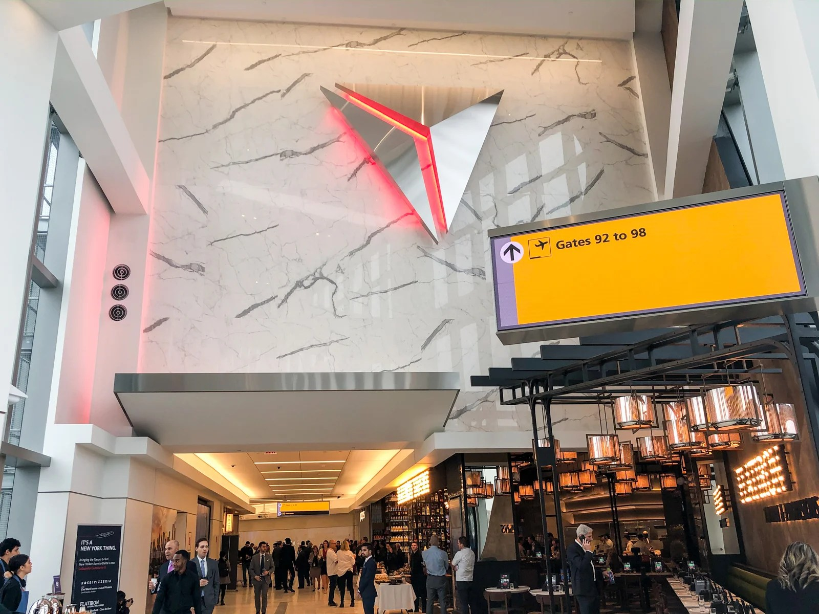 Delta's new concourse is a tantalizing preview of the LaGuardia renovation