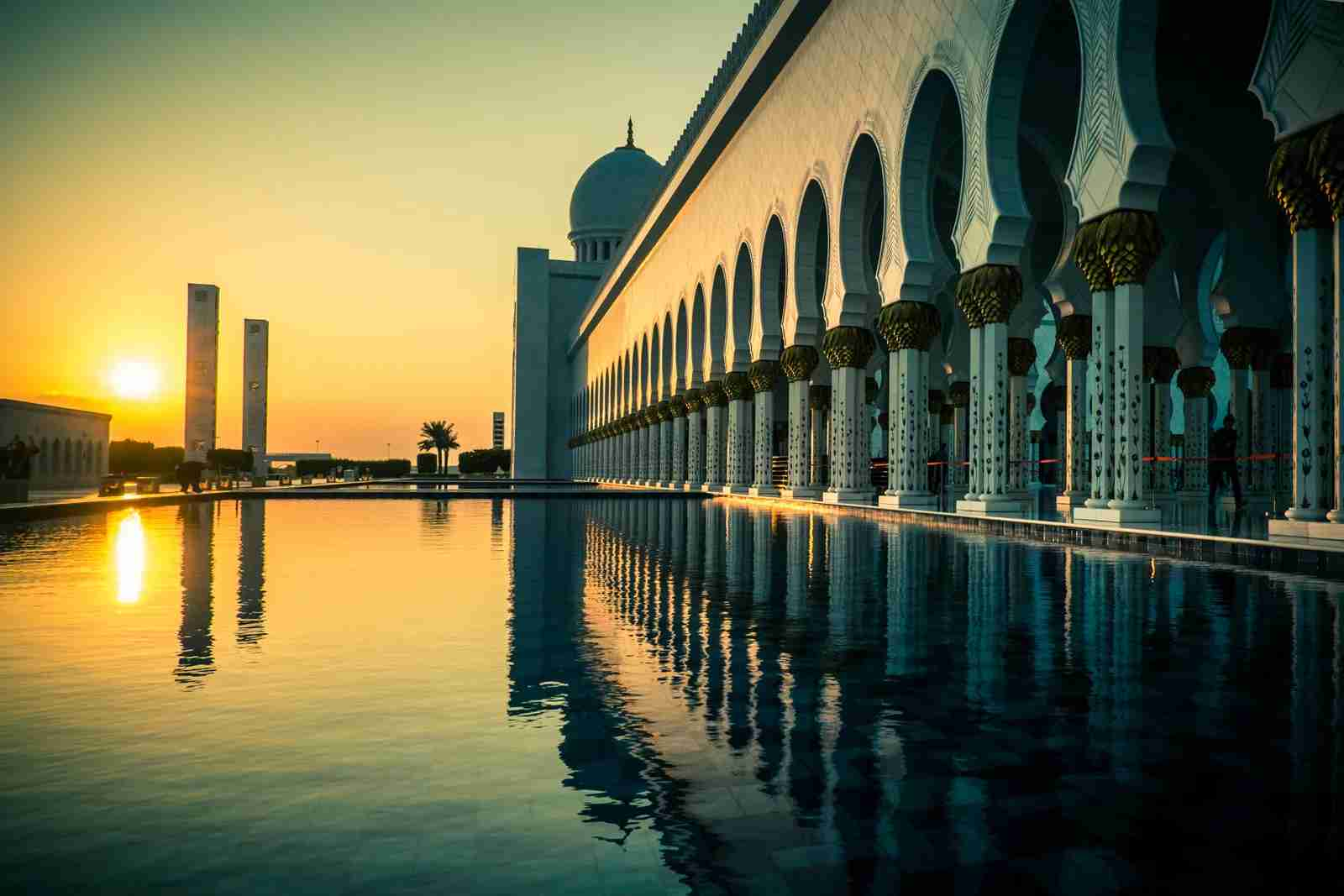 The Grand Mosque in Abu Dhabi. (Photo by ©Rodrigo Kristensen/Getty Images)