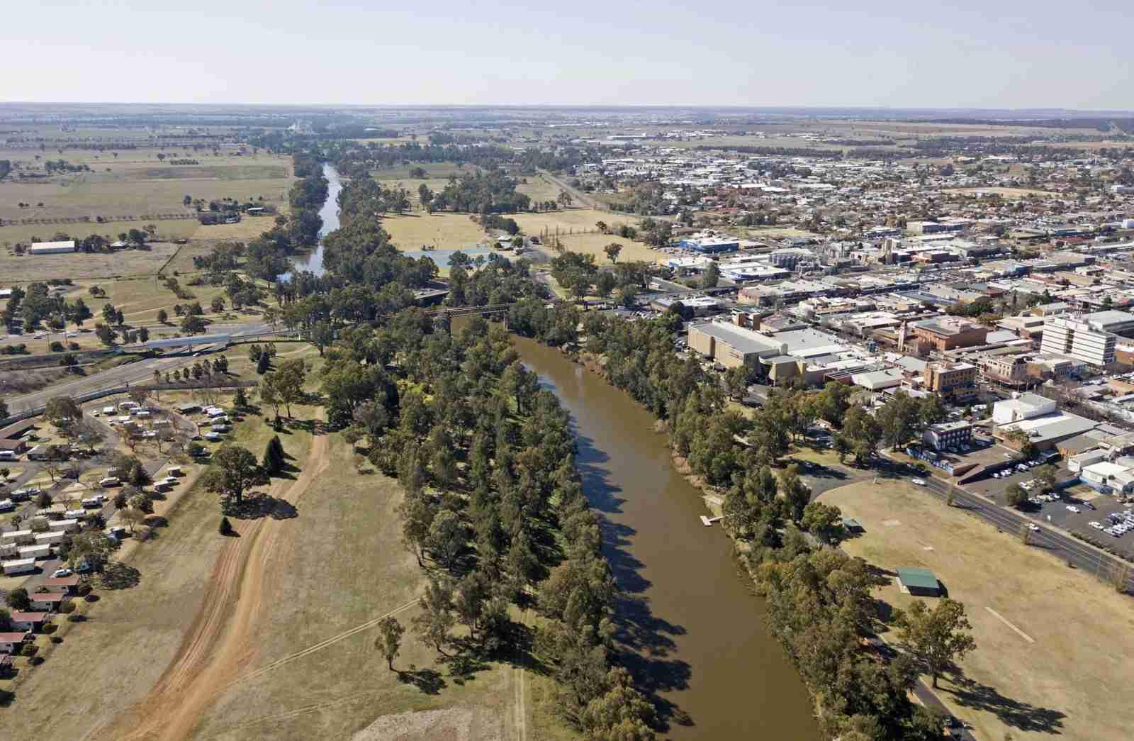 The town of Dubbo, Australia. (Photo by John Carnemolla/Shutterstock)