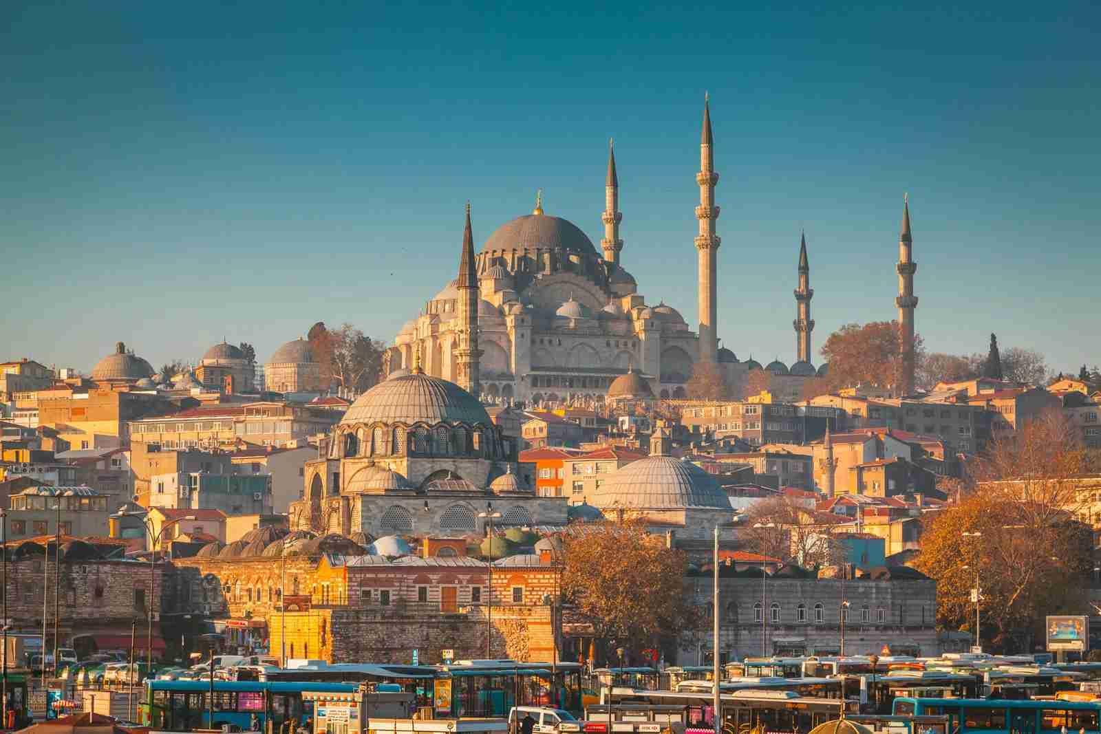 Sleymaniye Mosque in Istanbul, Turkey. (Photo by Shaoyang Zhou/EyeEm/Getty Images)