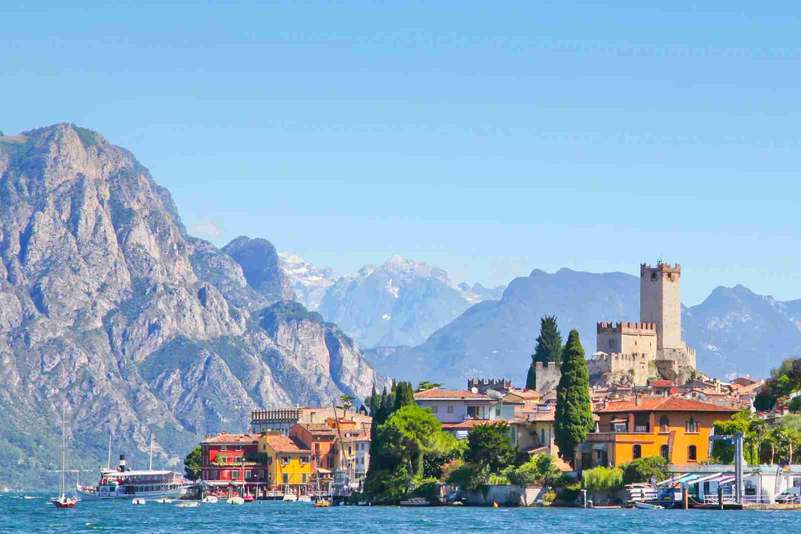 Lake Garda. (Photo by Jim Cook/Getty Images)