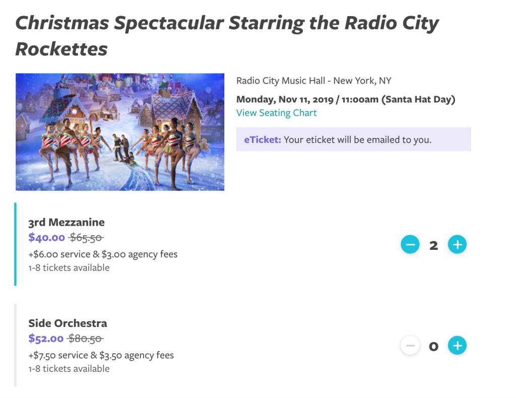 Radio City Christmas Spectacular Promo Code 2020 How to save money on Radio City Christmas Spectacular tickets