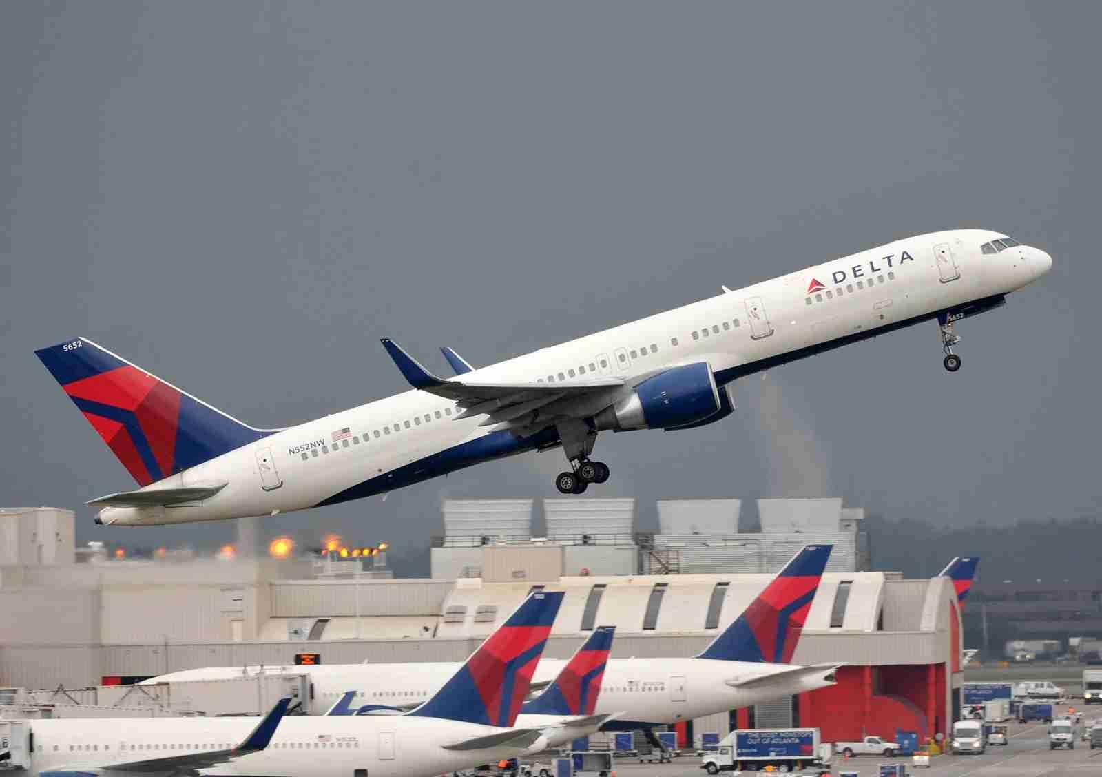 A 757-200 taking off in Atlanta in 2014 (Photo by Alberto Riva/TPG)