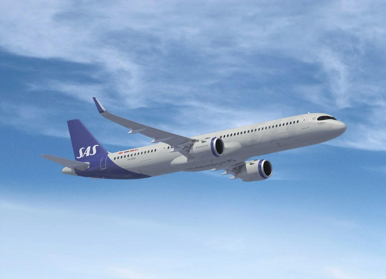 SAS will fly the new single-aisle A321LR to Boston